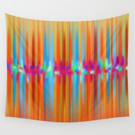 Seismic Shift Fiery Clouds Wall Tapestry