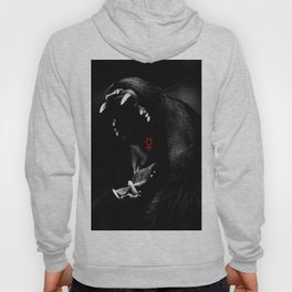 Roaring Animal Mouth Hoody