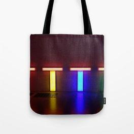 London Neon Art Tote Bag