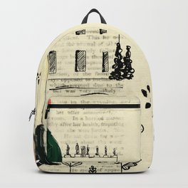 Mr.Darcy of Pemberley and Miss Bennet of Longbourn Backpack