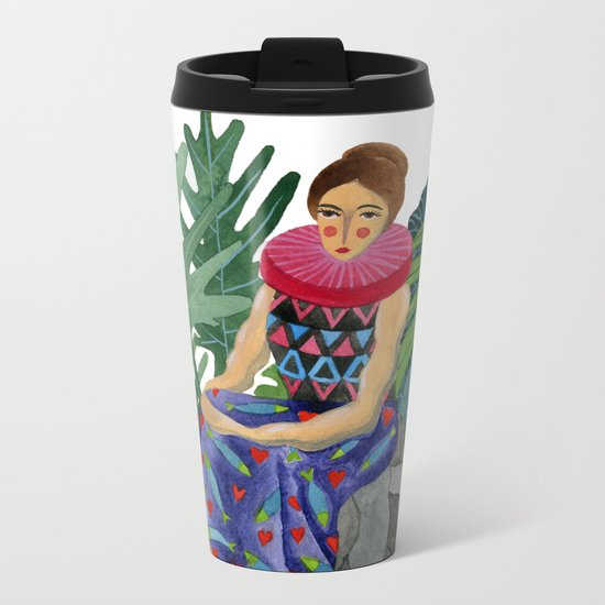 Queen of the greenhouse Metal Travel Mug