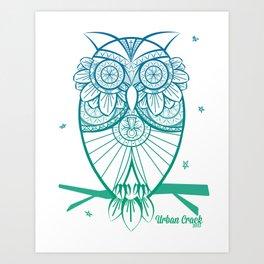 Design Owl Art Print