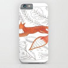 Decorative fox Slim Case iPhone 6s