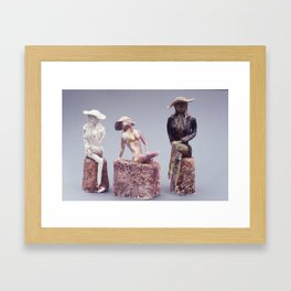 Disintegrating Ideal Framed Art Print