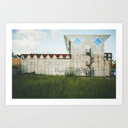 Amsterdam Architecture Building Art Print