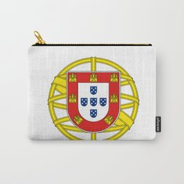 Portuguese Flag (Bandeira Portuguesa) Carry-All Pouch