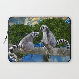 Playful Lemur-ick  Laptop Sleeve
