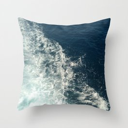 Sea Trails 2 Throw Pillow