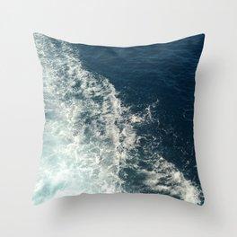 Sea Trails 2 Throw Pillow