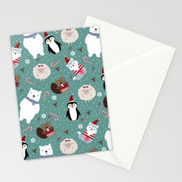 Jolly Animals Stationery Cards
