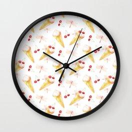 Dragonfly Chill Wall Clock