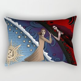 The Dark Fathers Mythology: The Afterlife Rectangular Pillow