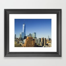 World Trade Center Freedom Tower NYC Framed Art Print