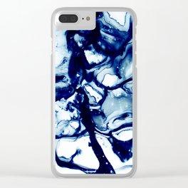 Allegro Denim Blue Clear iPhone Case