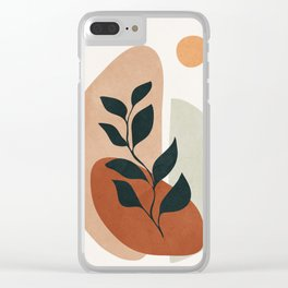 Soft Shapes II Clear iPhone Case