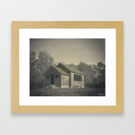 Hayland School Framed Art Print
