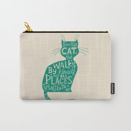 'The Cat That Walked by Himself' Carry-All Pouch