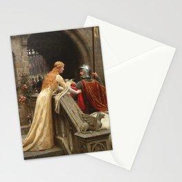 "Edmund Blair Leighton ""God Speed!"" Stationery Cards"