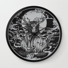 DREAMTIME - BLACK Wall Clock