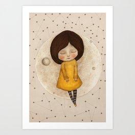 Moon Song 5 Art Print