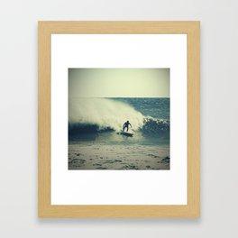 Surf Spray Framed Art Print