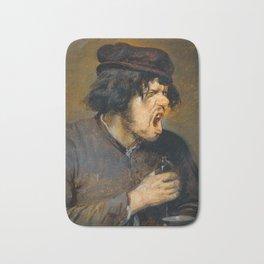 Adriaen Brouwer - The Bitter Potion Bath Mat