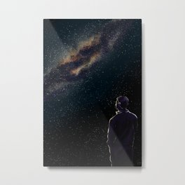 Rodney Under The Milky Way Metal Print