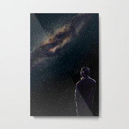 Rodney Under The Milky Way Metal Print