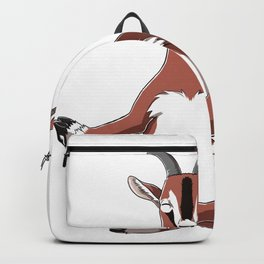 Meditation Goat Backpack