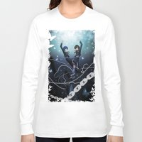 persona Long Sleeve T-shirts featuring Persona 3 Protagonists by Creativelea