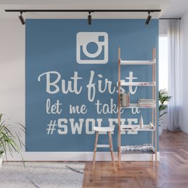 #swolfie Wall Mural