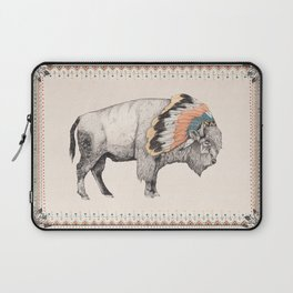 White Bison Laptop Sleeve