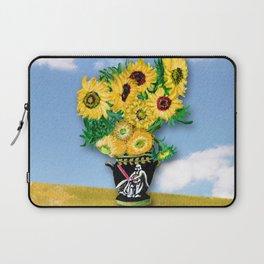 Sunflowers in Vader Vase Laptop Sleeve