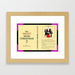 Danny Phantom The Fright Before Christmas notebook Framed Art Print