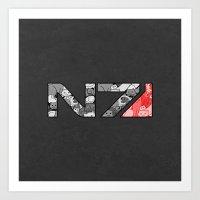 """n7 Art Prints featuring """"My Favorite Things"""" N7 by Helenasia"""
