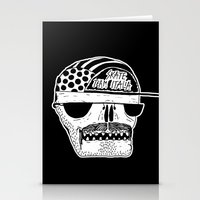 italian Stationery Cards featuring Italian Skull  by Mr. JJ