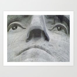 Washington from Below Art Print