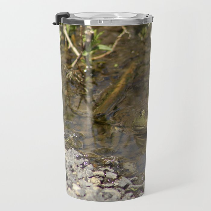 Whatcha Looking at Frog? Travel Mug