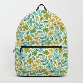 Clover & Floral Field Backpack