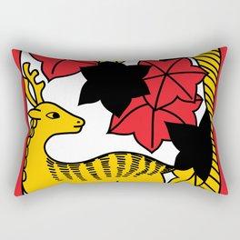 OCTOBER DEER Rectangular Pillow
