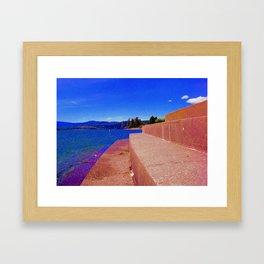 Stairz Framed Art Print