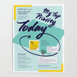 Make Time for Your Creativity Poster