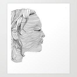 Linearity Art Print