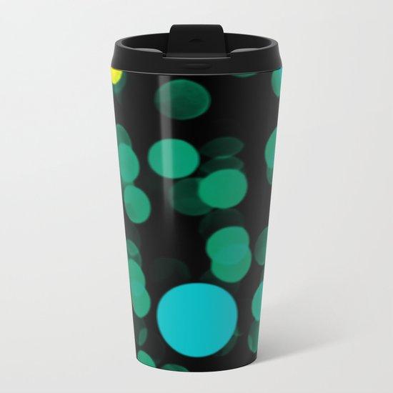 magic bubbles Metal Travel Mug