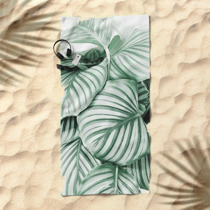 Long embrace Beach Towel