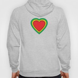 One love, one heart Hoody