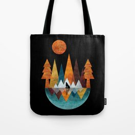 The Night Of The Wolf Tote Bag
