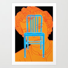 My Mother Was A Chair Art Print