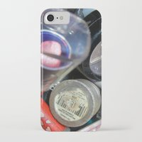 makeup iPhone & iPod Cases featuring Makeup  by BruiseViolet