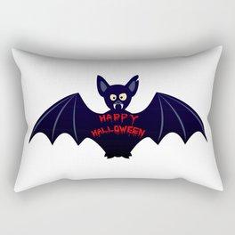 Creepy halloween bat Rectangular Pillow